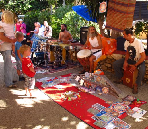 The Hippie Market on Ibiza.