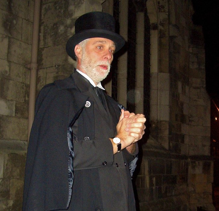Andy Auster of the Ghost Hunt of York