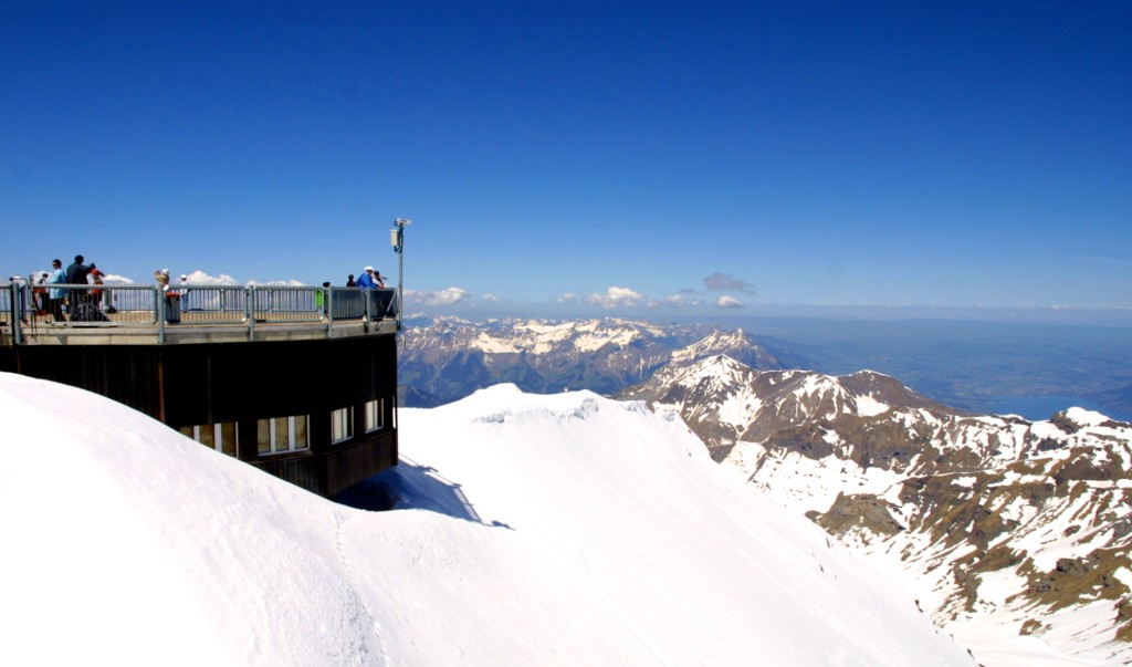 Schilthorn viewing platform.