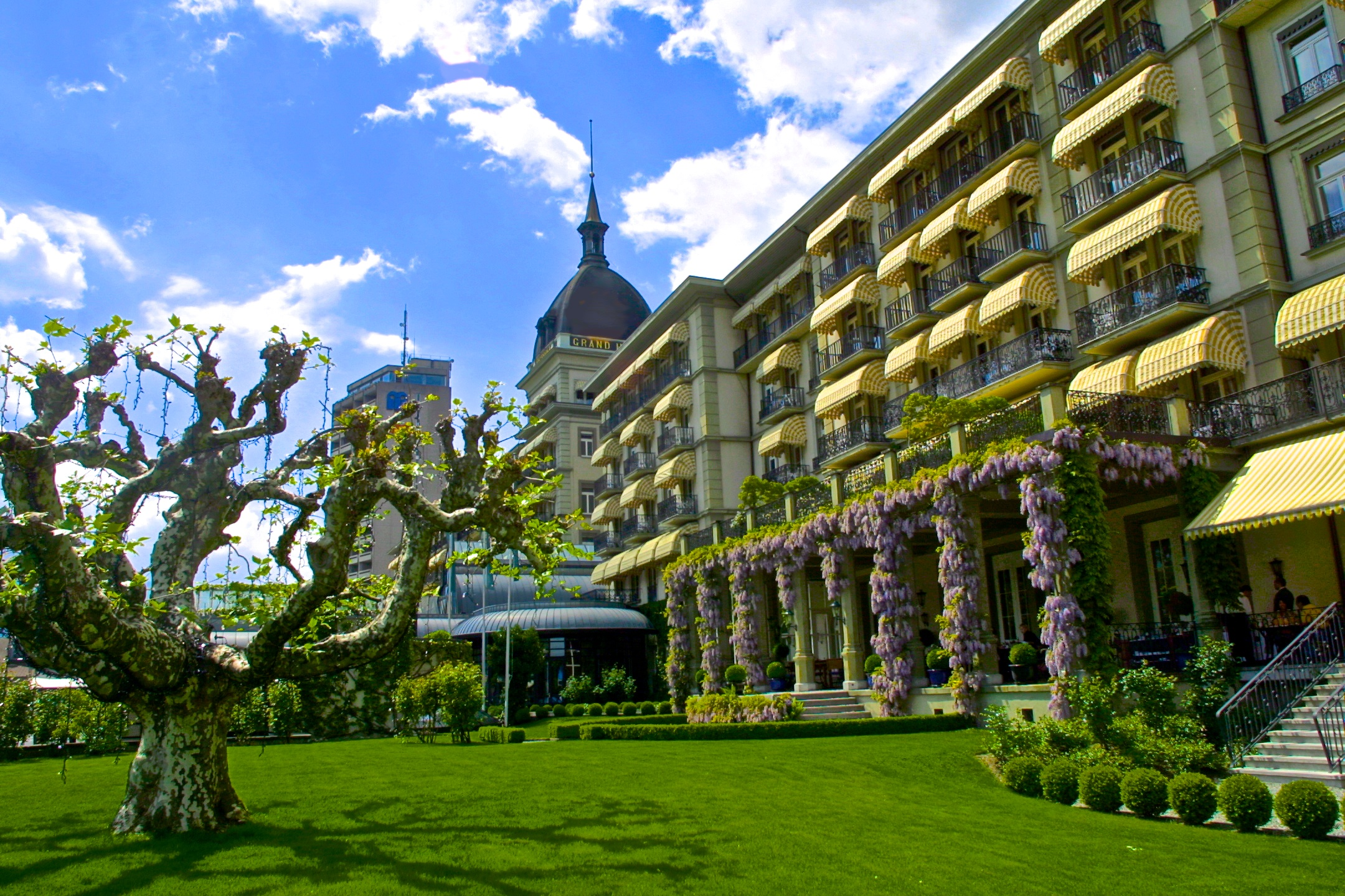The Victoria-Jungfrau Grand Hotel and Spa.