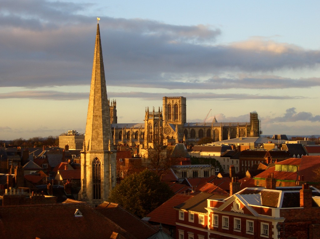 "York has been dubbed ""Europe's most haunted city."""