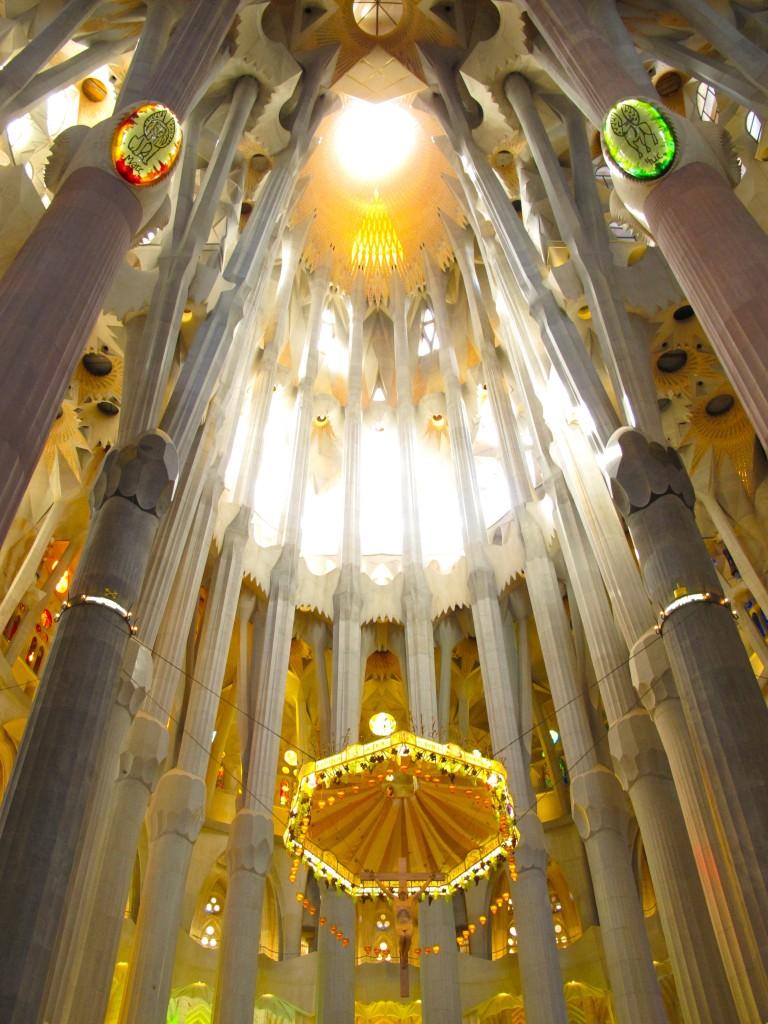 Gaudi's La Sagrada Familia in Barcelona