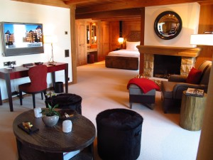 The Alpina Gstaad Junior Suite