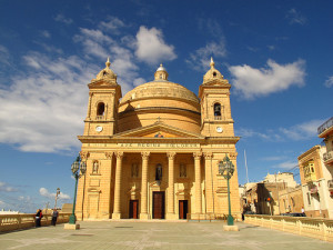 "Malta's ""egg church."""