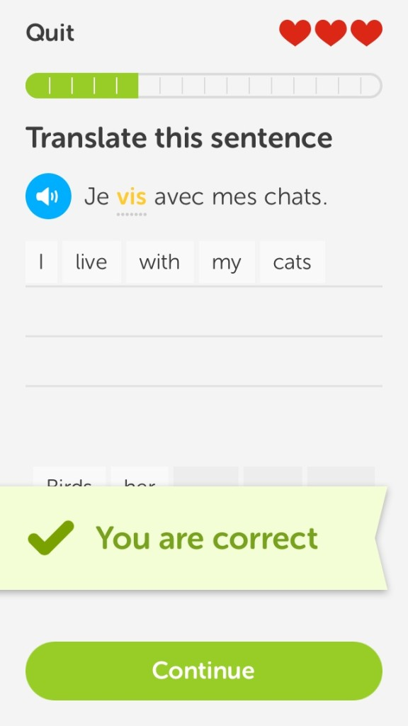 A handy French phrase for fending off unwanted advances.
