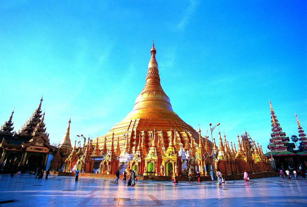 Shwedagon Pagoda in Yangon. Credit Asia Transpacific Journeys.