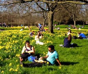 Regents Park picnickers_3796
