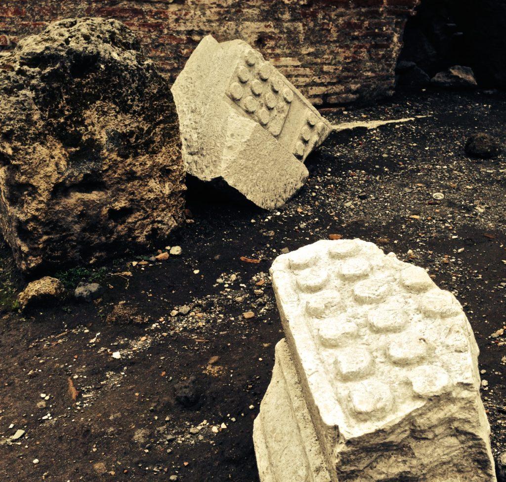 Pompeii lego bricks
