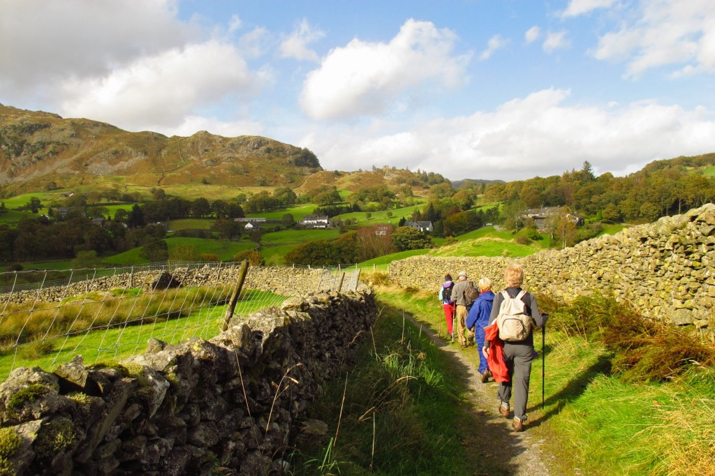 The sun finally shines in Little Langdale