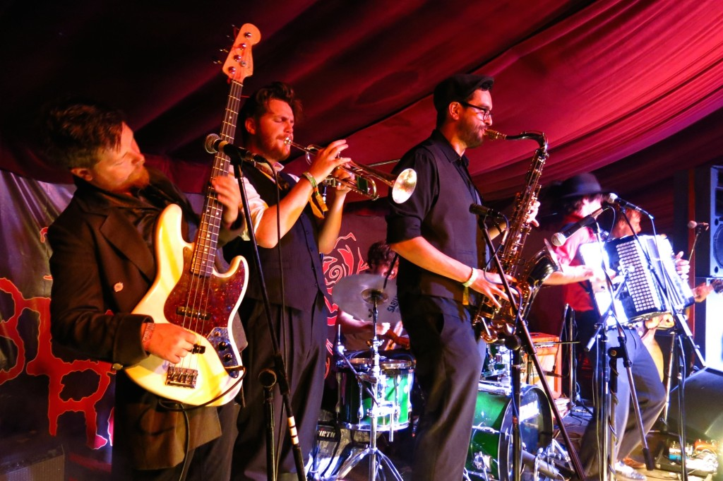Tankus the Henge, where ska meets klezmer. Rock on, oi!