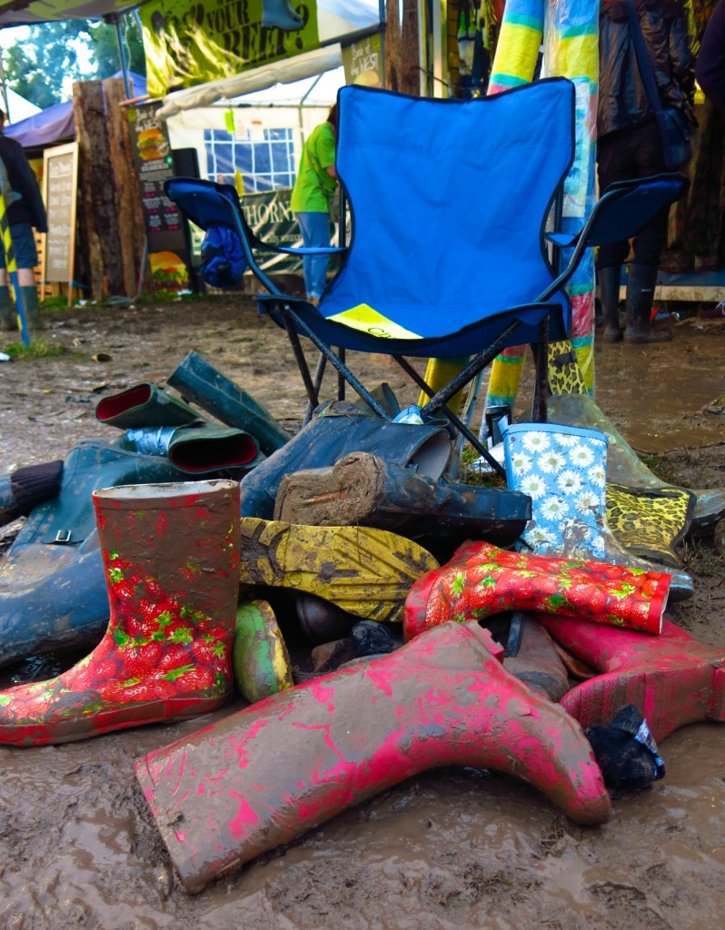 These wellies have got the boot.