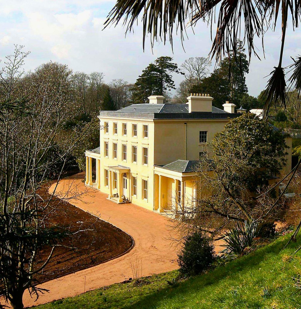 Exterior of Greenway, Agatha Christie's home in Devon, England. ©NTPL-Mark Passmore