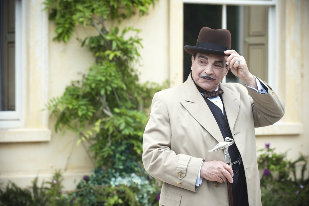 Hercule Poirot, courtesy The National Trust.