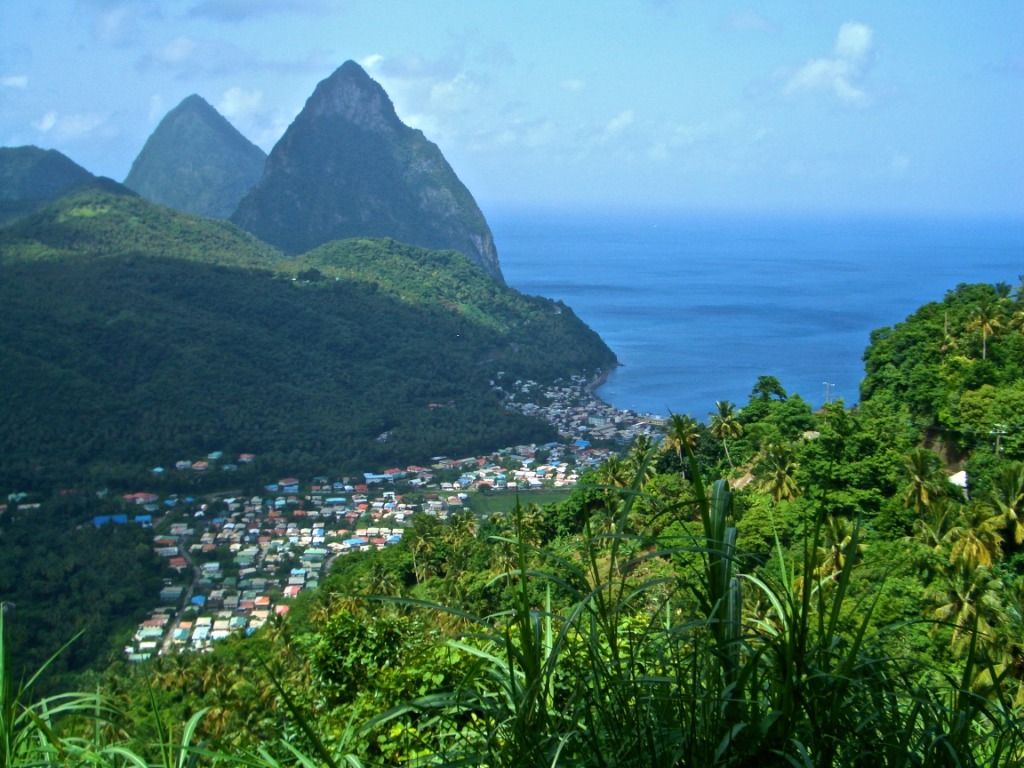 St. Lucia's UNESCO World Heritage listed Pitons
