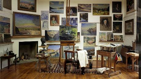 Churchill's paintings at Chartwell, © Chartwell/National Trust