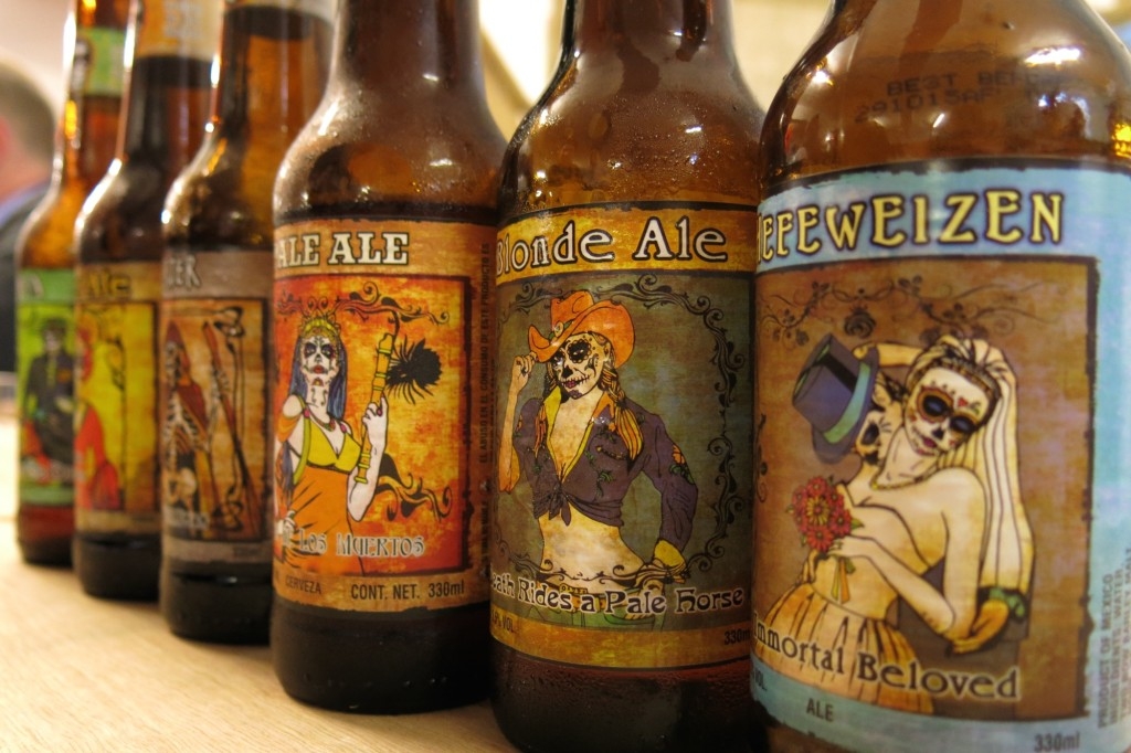 Day of the Dead brews from Mexico. Collect all six!