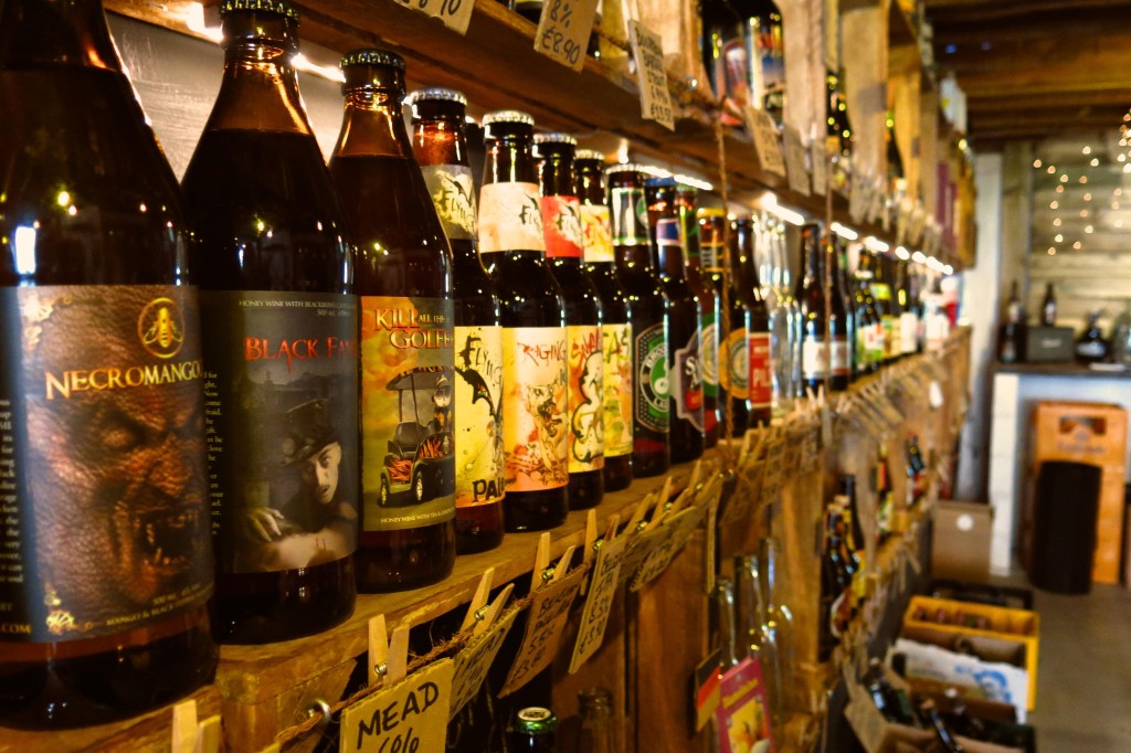selection of beer at The Beer Tree in Amsterdam