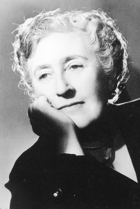 Black and white images of Agatha Christie © Agatha Christie Ltd.