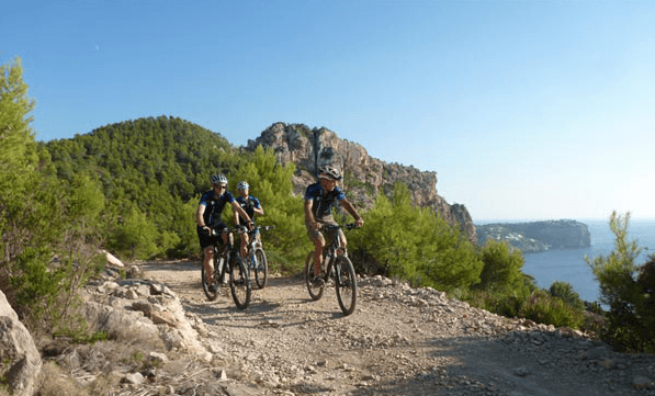 Cycling in Calvia. Credit Visit Calvia.