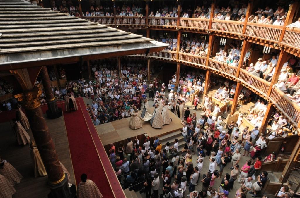 Globe Theatre. Credit Linda Nylind