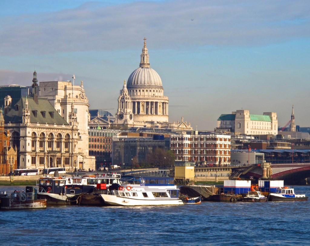 St. Paul's across the Thames