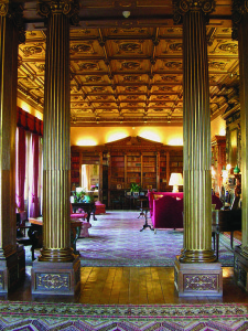 Highclere's Library, Copyright Highclere Enterprises LLP