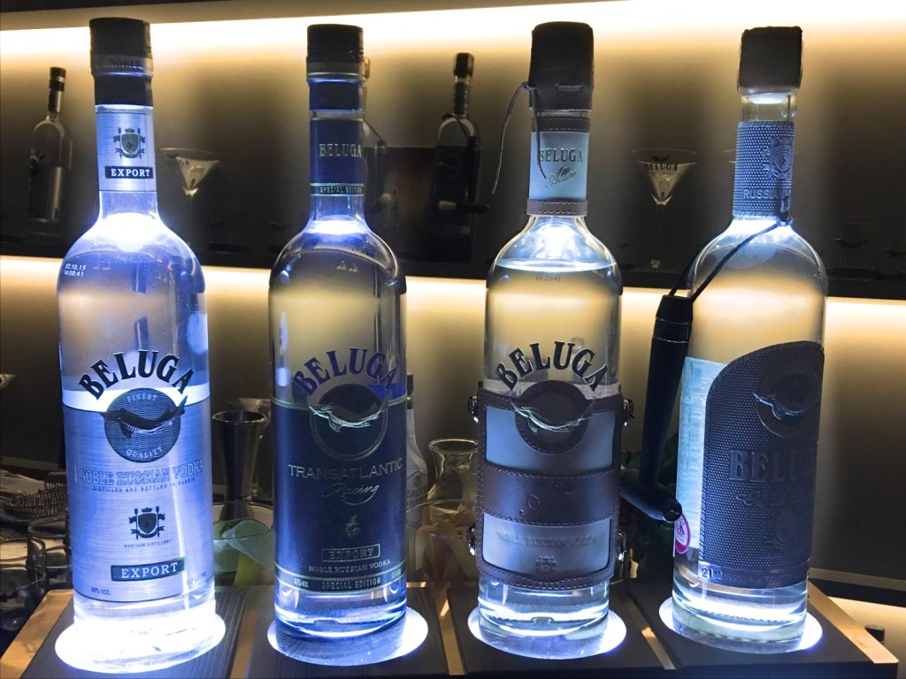 Beluga Vodka Range at Donovan's Bar