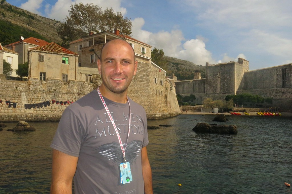 Ivan Vukovic, a native of Dubrovnik, founded the original Dubrovnik Game of Thrones tour.