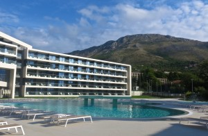 The Sheraton Dubrovnik Riviera Hotel, is situated on a peaceful bay about a 10-minute drive from Dubrovnik, Croatia.