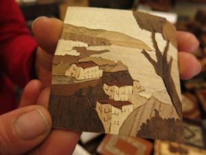 Sorrento Augusto Lucas Workshop marquetry negative side