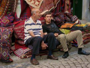Rug vendors at Istanbul's Grand Bazaar