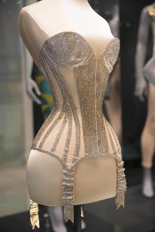 Swarovski crystal corset worn by Dita von Teese – Amy ...