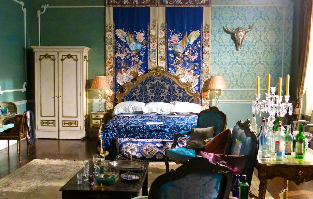 Princess Eleanor's bedroom from the set of The Royals, the E! tv series