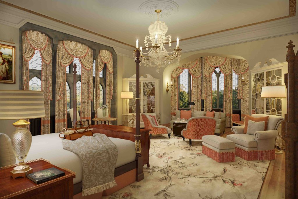 The Dunraven Stateroom at Adare Manor. Courtesy Adare Manor.