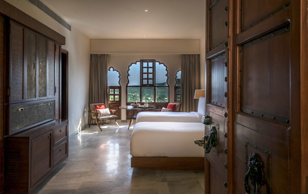 Rendering of the Heritage Suite at Alila Fort Bishangarh. Courtesy Alila Fort Bishangarh