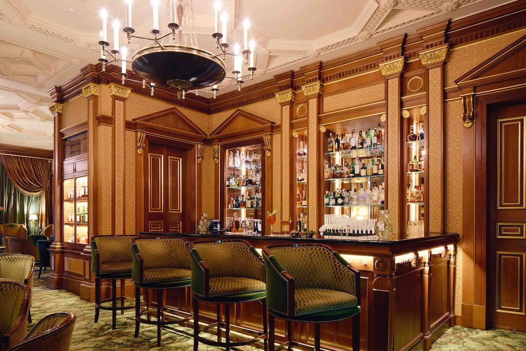 The Library Bar at The Lanesborough. Courtesy The Lanesborough.