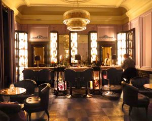 The American Bar at Gleneagles. © Amy Laughinghouse.