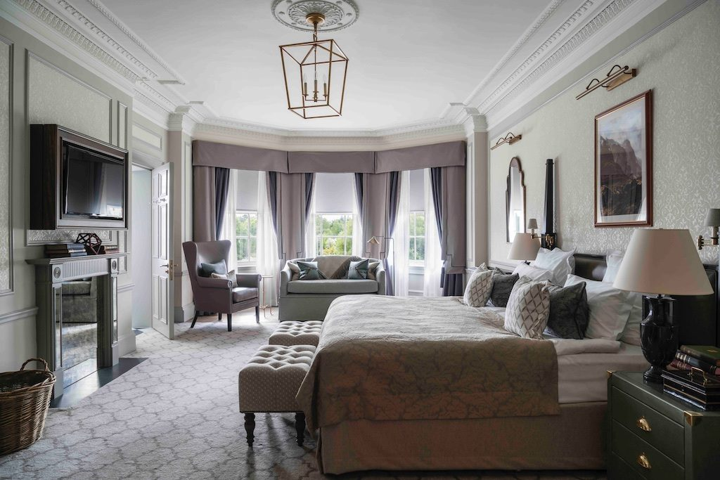 A newly renovated room at Gleneagles. Courtesy Gleneagles.