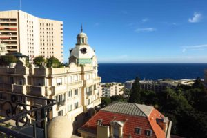 View of Monaco from the Suite Carre D'Or at the Hotel Metropole Monte-Carlo. © Amy Laughinghouse.
