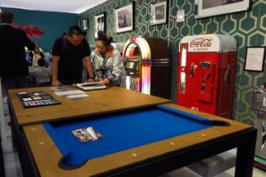 Cool pool tables, juke boxes, soda machines and video games. The Games Room Company sells everything you ever dreamed of as a 16-year-old boy.