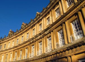 The Circus, a landmark in Jane Austen's Bath, England