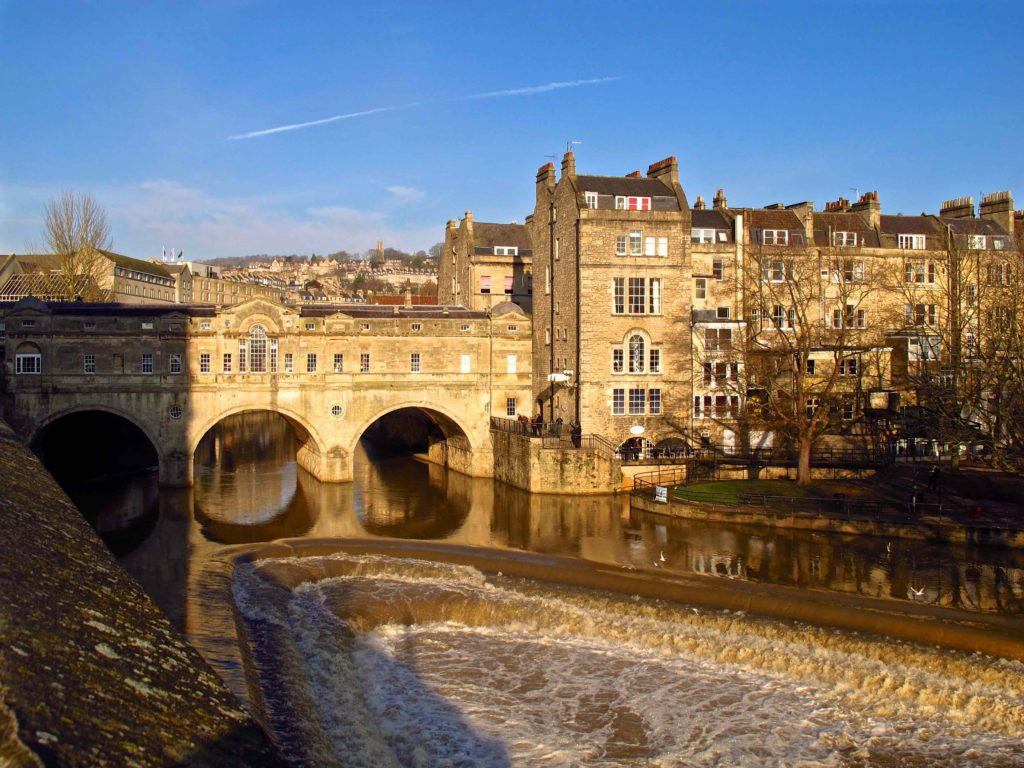 Pultney Bridge, Jane Austen, Bath, England