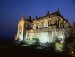 STIRLING CASTLE FLOODLIT AT DUSK, STIRLING PIC: VISITSCOTLAND