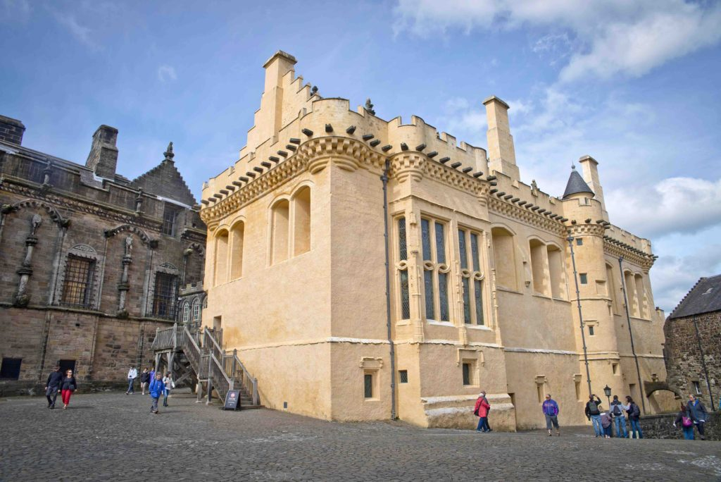Stirling Castle Great Hall exterior