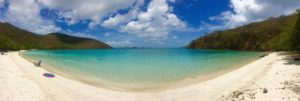 Maho Bay, St. John, USVI before Hurricane Irma. Copyright Amy Laughinghouse