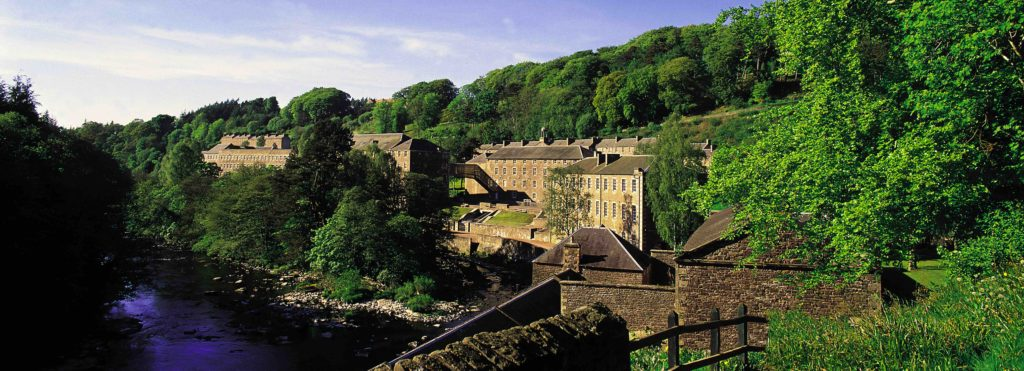 LOOKING ACROSS TO NEW LANARK WORLD HERITAGE SITE, SOUTH LANARKSHIRE © VisitScotland