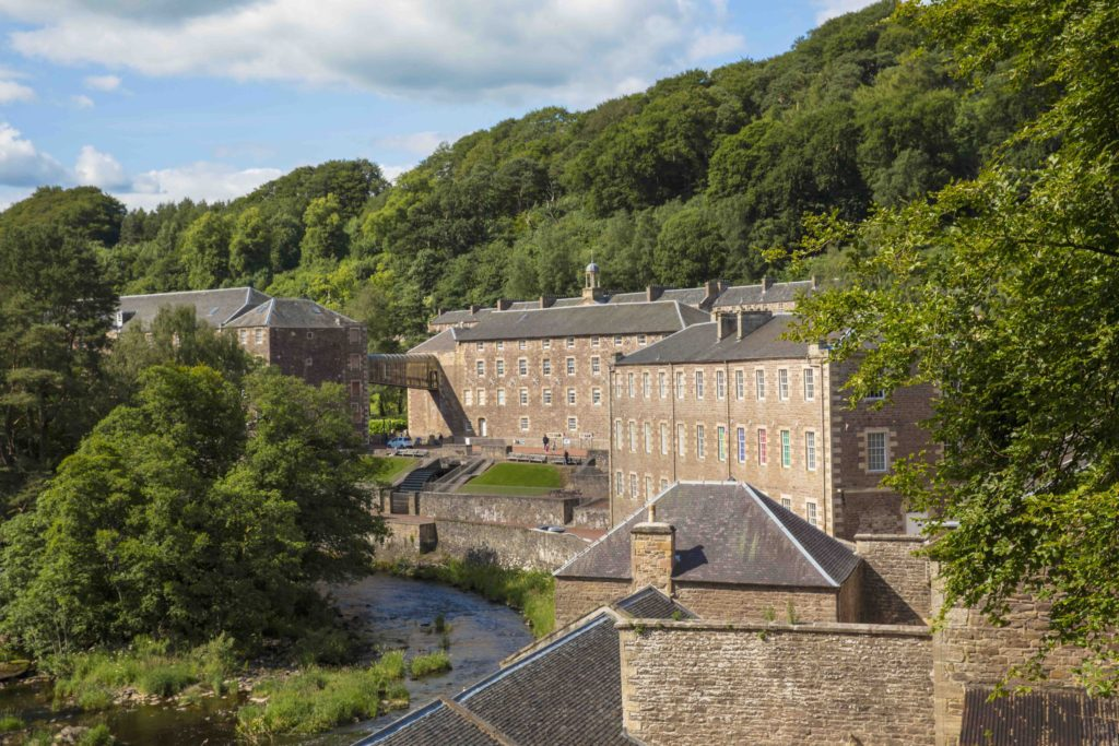 New Lanark Visitor Centre. VisitScotland / Kenny Lam, all rights reserved.