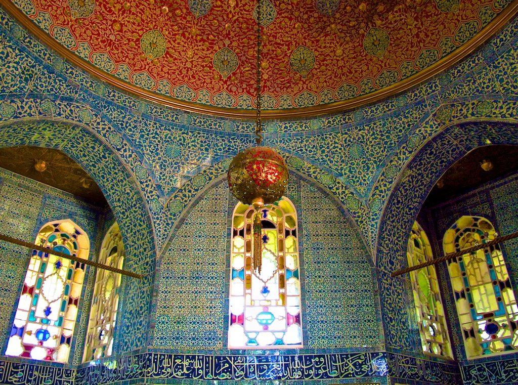 Topkapi Palace mosaic interior Istanbul