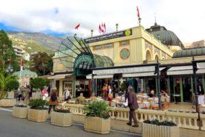 Cafe de Paris on Place du Casino, Monte Carlo, Monaco. Copyright Amy Laughinghouse