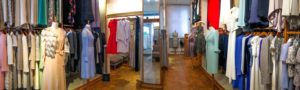 The Catherine Walker boutique in Chelsea, London. Copyright Amy Laughinghouse